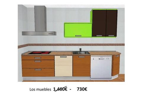 Cocinas herv s cocinas exposici n 50 for Muebles hervas