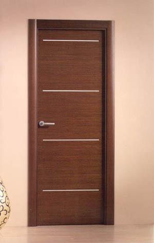 Puertas modernas for Modelos de puertas de interior modernas