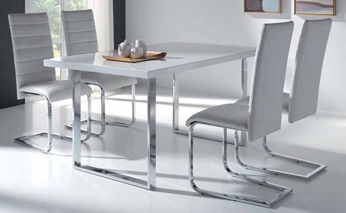Emejing Mesas De Comedor Blancas Extensibles Ideas - Casa & Diseño ...