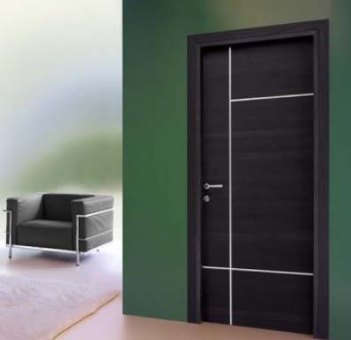 Puertas de interior en cocinas herv s - Puertas de madera modernas para interiores ...