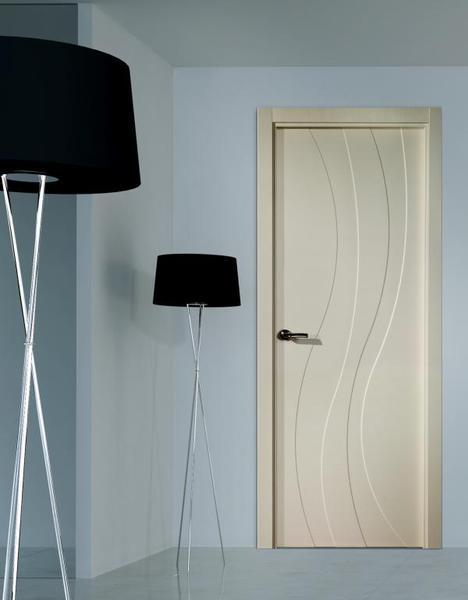 Puertas de interior en cocinas herv s - Modelos de puertas de interior modernas ...